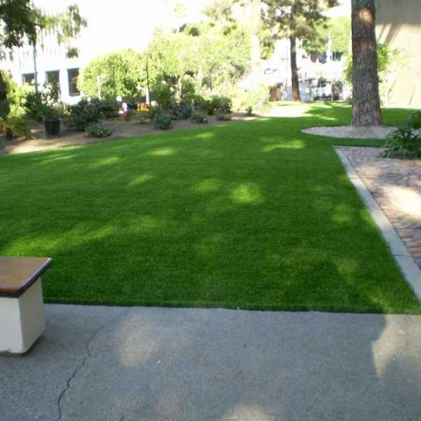 Commercial artificial grass courtyard in Philadelphia